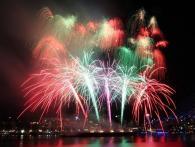 De vuurwerkshow op de Wereldhavendagen in Rotterdam wordt al jaren verzorgd door Xena Vuurwerk
