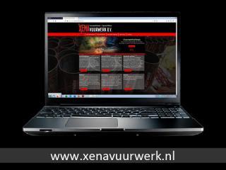 Op de algemene website van Xena Vuurwerk vind je allerlei informatie over het bedrijf, uitgevoerde vuurwerkshows en andere activiteiten