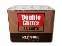 Single effect cakebox van RedWire met zilver glitter mines en peonies. Exclusief verkrijgbaar in Nederland bij Xena Vuurwerk in Ede