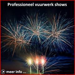 Xena Vuurwerk BV verzorgt spectaculaire vuurwerkshows met professionele vuurwerk in binnen- en buitenland